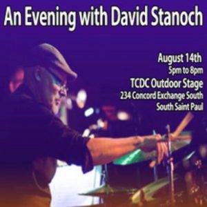 Master Educator David Stanoch will conduct a Three-part Interactive Clinic at the the Twin Cities Drum Collective. @ Twin Cities Drum Collective