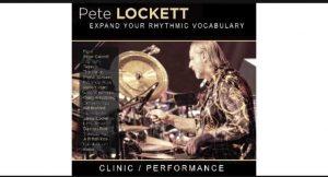 Pete Lockett drum clinic at Klash Drums @ Klash Drums