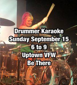 """Drummer Karaoke at Uptown VFW @ James Ballentine """"Uptown"""" VFW - Post 246"""