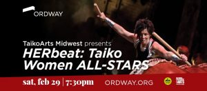 Master Taiko Class with HERbeat artist, Naomi Guibert @ Ordway Center for the Performing Arts